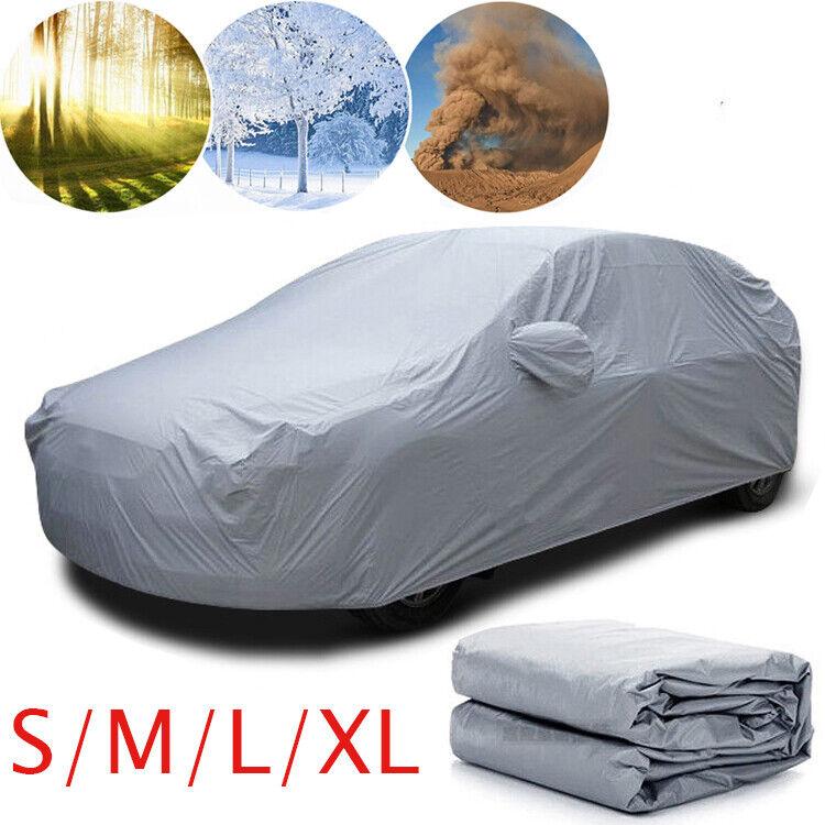 New Car Cover Waterproof Sun Snow Dust Rain Resistant Protection For All Sedan
