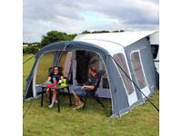 Outdoor Revolution Europa 380 Pro Air Awning with Tall Annexe and Mesh Door