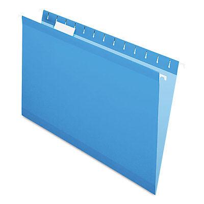 Pendaflex Reinforced Hanging Folders 15 Tab Legal Blue 25box