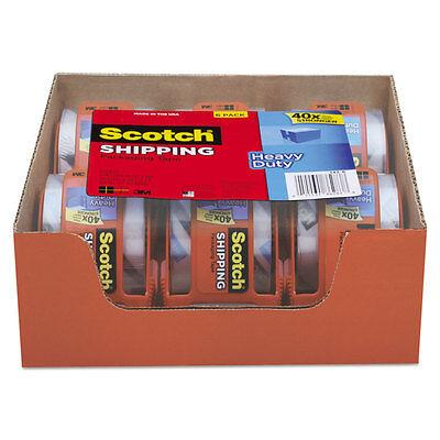 Scotch 3850 Heavy-duty Packaging Tape In Sure Start Disp. 1.88 X 800 Clear 6