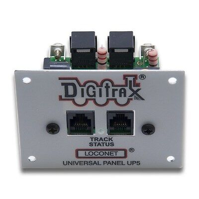 Digitrax DCC UP5 LocoNet Universal Interconnect Panel Bob The Train Guy
