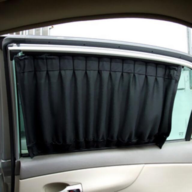 Curtains Ideas car window curtain : 2x High Quality Yes Car Interior Side Window Curtain Foldable UV ...