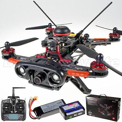 WALKERA Runner 250C CC3D FPV Racing Quad OSD 800TVL DEVO 7 RTF OpenPilot GCS for sale  Shipping to Canada