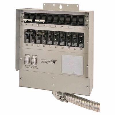 Reliance Generator Transfer Switch 120 Vac 50 A 12500 W 2 P
