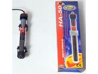 50w Heater for Live Tropical Fish guppies plec platy tetra BRAND NEW!