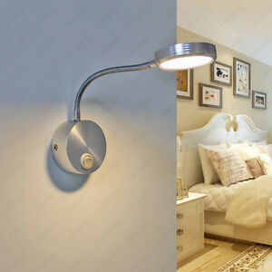 bedroom wall lights with switch 3w led wall sconce picture light indoor lamp on switch 18221