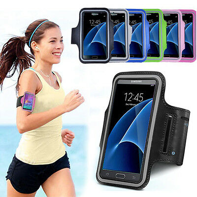 For Samsung Galaxy S9/Plus/S7/Edge Sport Gym Jogging Running Armband Holder Case