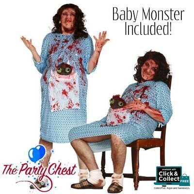 BIRTH OF ALIEN MONSTER BABY COSTUME MENS Halloween - Baby Alien Kostüme