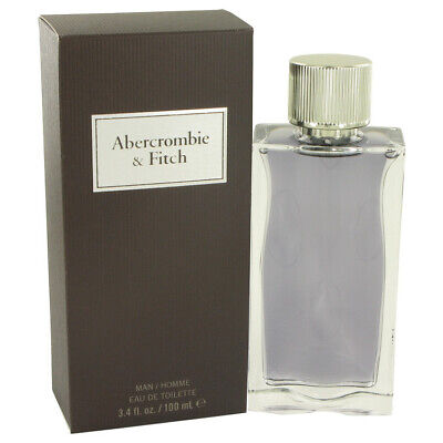 Abercrombie & Fitch First Instinct Cologne For Men Edt Spray 3.4 oz / 100ml NIB