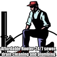 204-880-6796 cleaning & Plumbing  rooter fast affordable