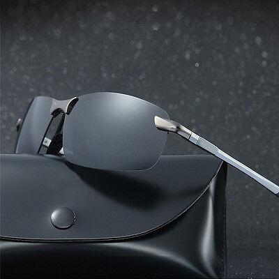 Men's HD Aviator Polarized Sunglasses Outdoor Driving UV400 Sun Glasses - Aviator Glasses