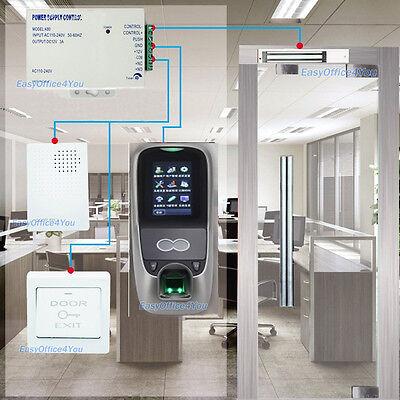 Zkaccess Iface7 Multibio700 Face Access Control Kitsmag Lock 1500 Face Capacity