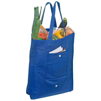 Non-Woven Einkaufstasche / Farbe: blau