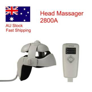Electric Head Massager Brain Massage Relax Easy 2800A