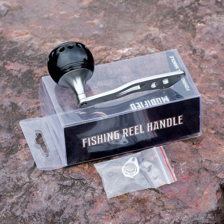 Power Baitcasting Fishing Reel Handle Micro Jigging Grip For Abu Garcia Daiwa TD