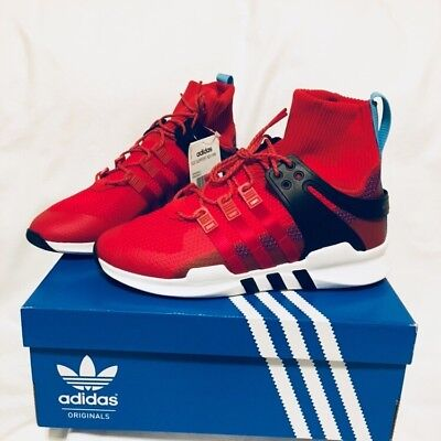 Adidas EQT Support ADV Winter Trainer Red Shoes BZ0640 Uk 8 Eu 42 Us 8.5 BNIB