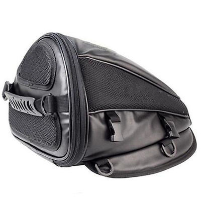 Newly Motorcycle Bike Waterproof Back Bag Seat Carry Bag Luggage Tail Saddlebag