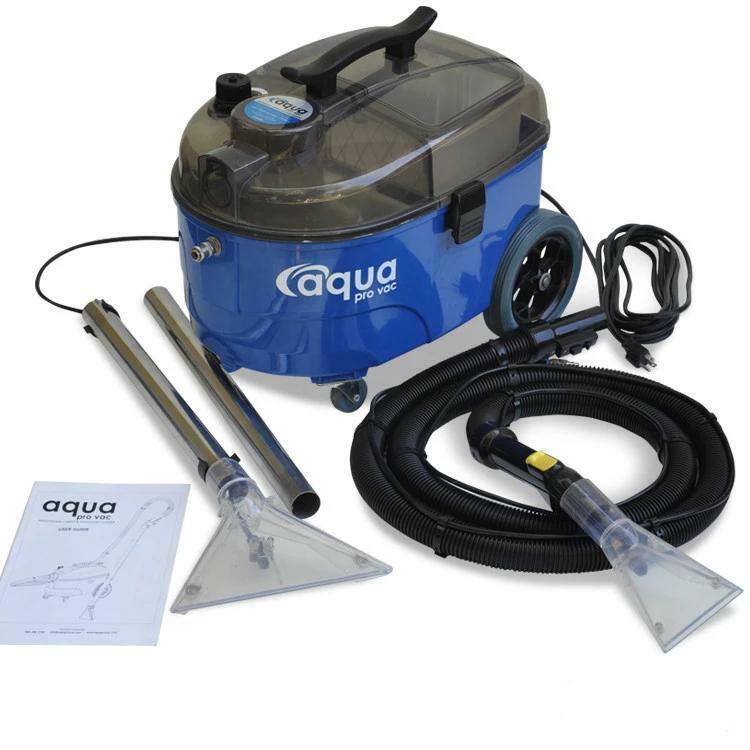Aqua Pro Vac - Carpet Extractor Cleaner, Shampooer, Spotter for Auto Detailing