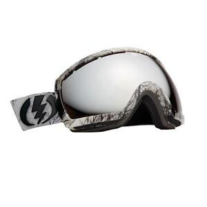 ELECTRIC EG2.5 Twiggy Ski/Snowboard Snow Goggles- Bronze Silver Chrome Lens- NEW