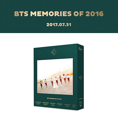 [BTS] MEMORIES OF 2016 (4DVD) Special Photobook (198P) Photocard 7ea +Tracking