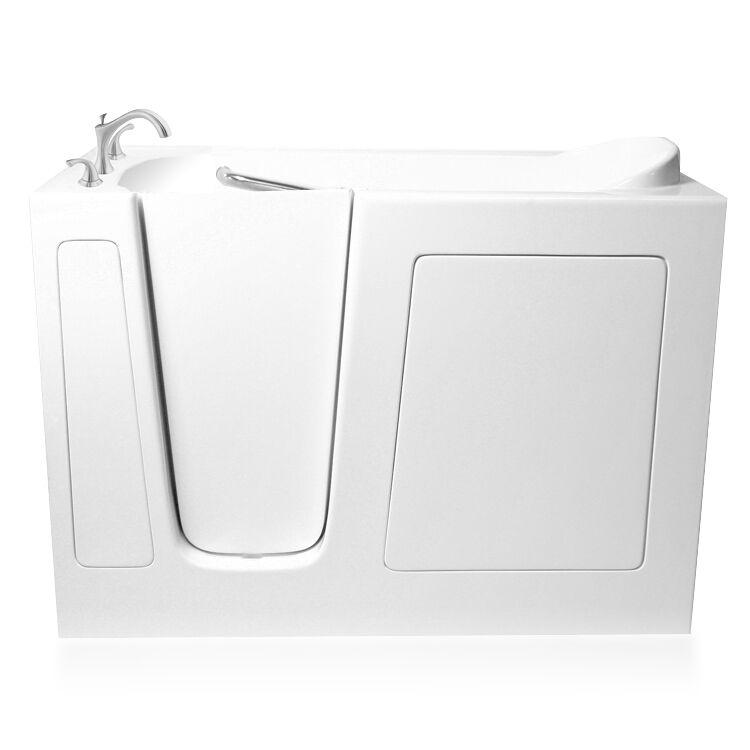 """Ariel 60"""" X 30"""" Ezwt-3060 Whirlpool + Air System Ada Compliant Walk-in Bath Tub"""