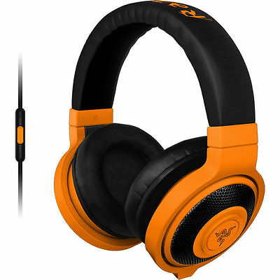 Razer Kraken Mobile Analog Music & Gaming Headset - Neon Orange RZ04-01400400