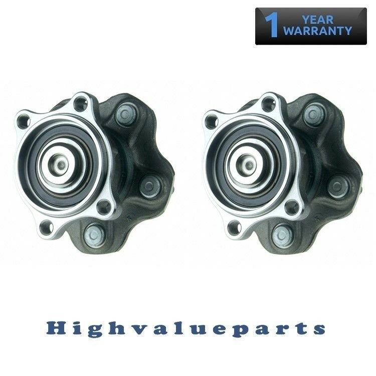 1 Pair Rear Wheel Bearing and Hub Assembly for Nissan Quest 2004-2009 512268