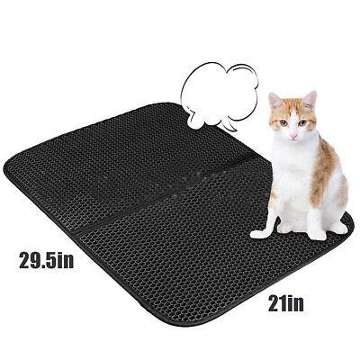 Cat Litter Mat Rug Trapper Supplies Super Pet Large Blackhole 2Layers Home Kitty