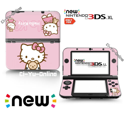Ci-Yu-Online [new 3DS XL] Hello kitty #1 VINYL SKIN STICKER DECAL COVER