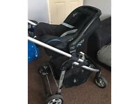 I candy pushchair and carseat