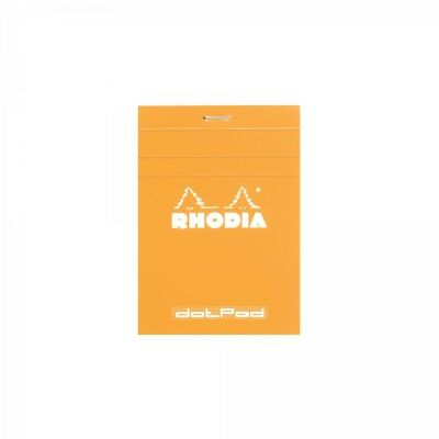 Rhodia Staplebound Dot Pad - Orange - Matrice Points 5mm - 3.35 X 4.75 - R12558