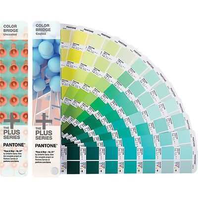 Pantone Gp6102n Color Bridge Set Guides Coated Uncoated Make An Offer