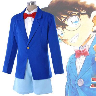 Hot Anime Detektiv Conan Koffer Geschlossen Uniform Kid Adult Cosplay Kostüme