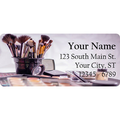 Ups Return Label (Makeup Kit Return Address Labels Make Up Cosmetics Beauty 60)