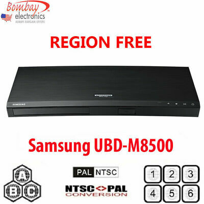 Samsung UBD-K8500 4K Blu-ray Player With Built-in WiFi
