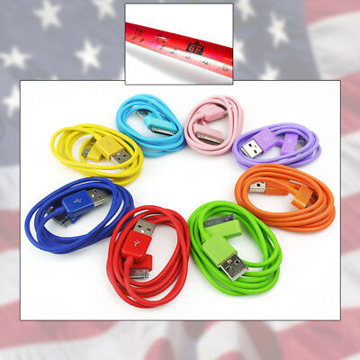 8-COLOR 6FT USB 30 PIN CABLES DATA SYNC POWER CHARGER SAMSUNG GALAXY TAB TABLET, used for sale  Shipping to India