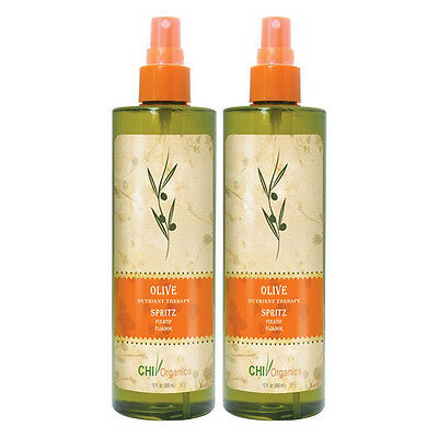 CHI Organics Olive Nutrient Therapy Spritz 12 fl oz (Pack of 2)