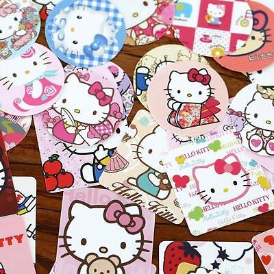 - 1 box 46 PCS kitty cat diary Scrapbook calendar deco envelope sealing sticker