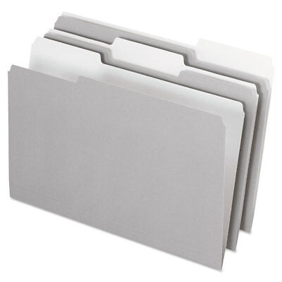 Pendaflex Interior File Folders 13 Cut Top Tab Legal Gray 100box 435013gra