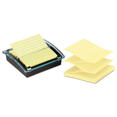 Post-it Pop-up Note Dispenservalue Pack 4 X 4 Self-stick Notes Blackclear