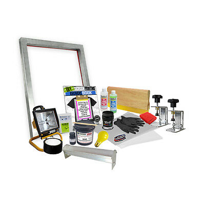 DIY Screen Clamp Screenprinting Screen Printing Starter Beginner Kit  00-6 ](Screen Print Kit)