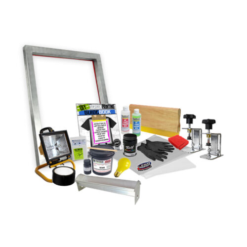 DIY Screen Clamp Screenprinting Screen Printing Starter Beginner Kit  00-6