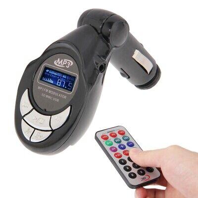 Transmisor Fm Para Coche Camión Caravana Música Reproductor USB Stick SD Mapa