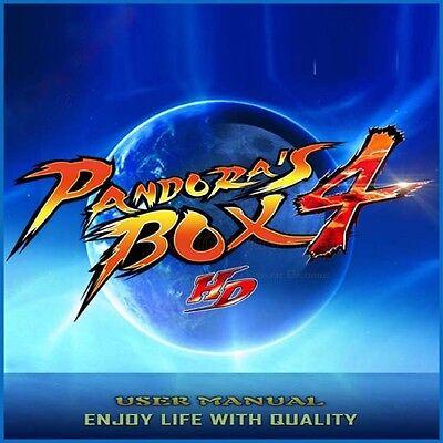 Pandora's Box 4 645 in 1 JAMMA PCB horizontal arcade multigame board USA Seller