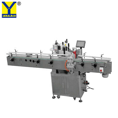 Mt-500 Round Bottle Labeling Machine Adhesive Winecan Label Applicator Machine