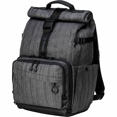 """Tenba DNA 15 Backpack for Mirrorless Camera with Lenses and 15"""" Laptop~Graphite"""