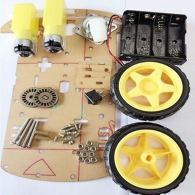 1pcs 2wd Smart Robot Car Kitspeed Encoder Battery Box Arduino 2 Motor 148 M36