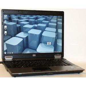 """HP 6730b Laptop Core2 Duo 2.40GHz DVDRW WiFi 2GB RAM 60GB 15.4"""""""