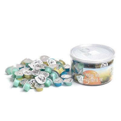 3 Flavors Vanilla Mint Orange Dental Tooth Polishing Paste 50pcsbox