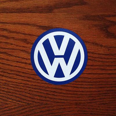 """Volkswagen VW Logo 4"""" inch Vinyl Sticker Decal"""